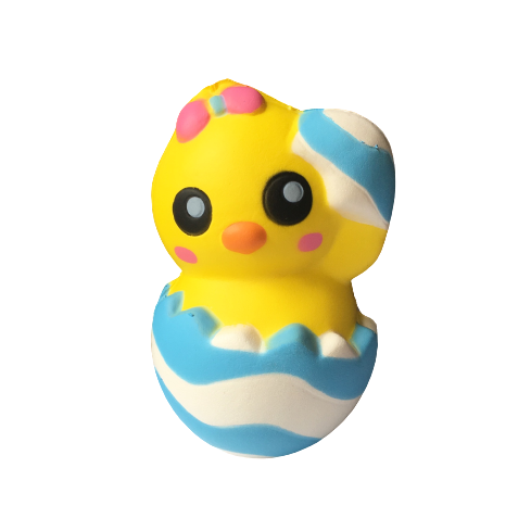 Slow Rise Easter Egg Chick Squishy