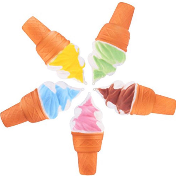 Jumbo Slow Rise Ice Cream Cone Squishies