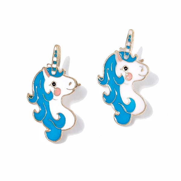 Enamel Unicorn Earrings!