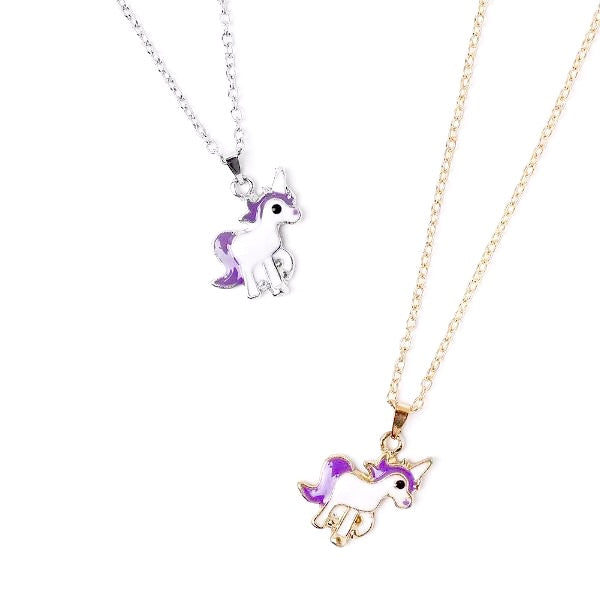 Unicorn Earrings & Necklace Set!