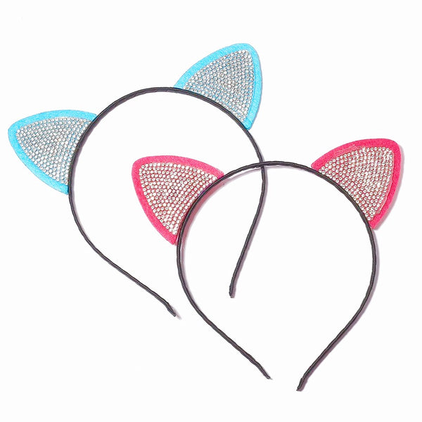 Sparkling Cat Ears Headbands