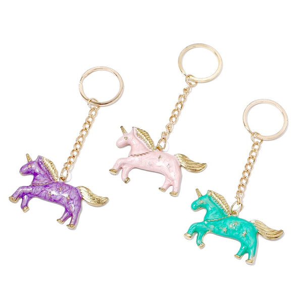 Unicorn Purse Charm Keychains!