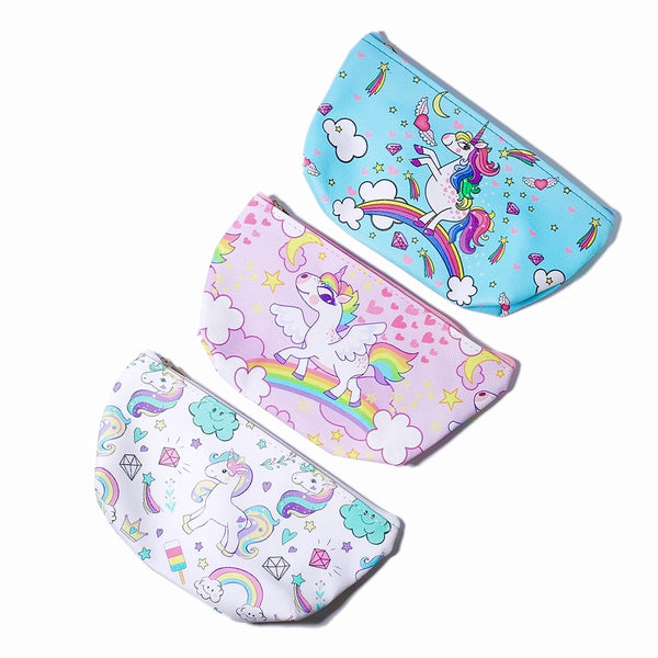 Unicorn Print Clutch Bags!