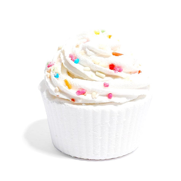 Sprinkle Cupcake Bath Bombs!