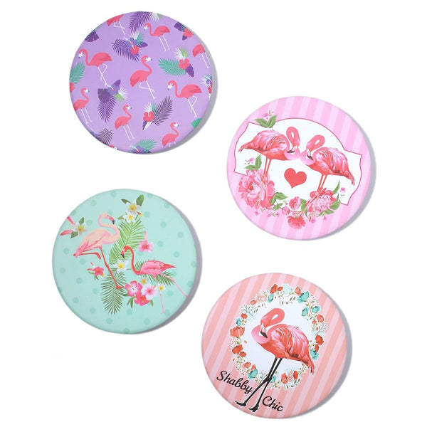 Flamingo Mirror Compacts