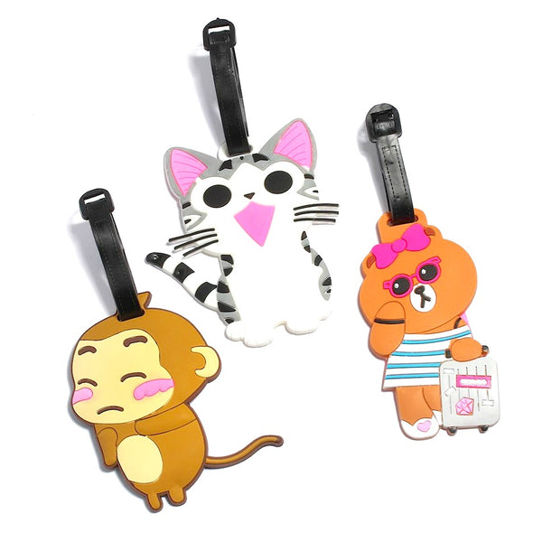 Kawaii Animals Luggage Tags