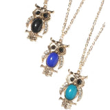 Cute Owl Pendant Necklaces