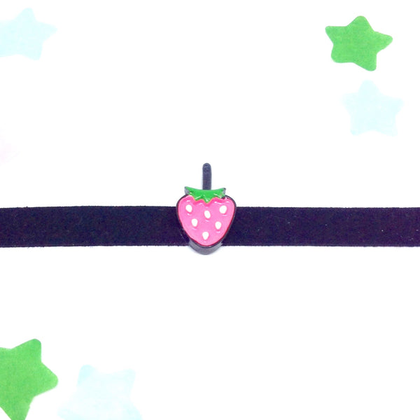 Kawaii Strawberry Choker