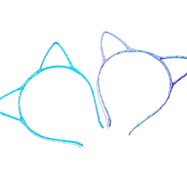 Sparkly Cat Ear Headbands