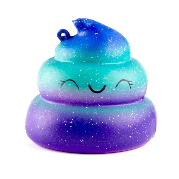 Ultra Slow Rise Galaxy Poo Squishy