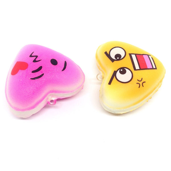 Mini Slow Rise Heart Squishies