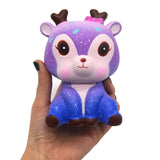 Jumbo Galaxy Deer Squishy