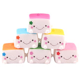 Slow Rise Kawaii Tofu Square Squishies