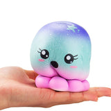Slow Rise Galaxy Octopus Squishy
