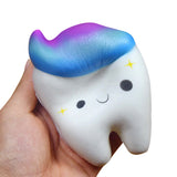 Ombré Galaxy Tooth Squishy
