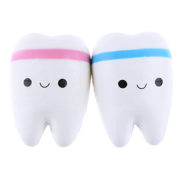 Slow Rise Kawaii Tooth Squishy