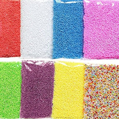 Mini Foam Beads for Slime