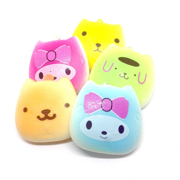Slow Rise Kawaii Kitty Squishies
