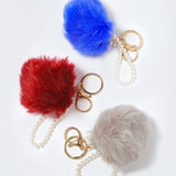 Pom Pom & Pearls Purse Charms
