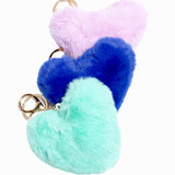 Pom Pom Heart Purse Charms!