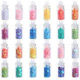 Mini Holo Confetti Jars for Slime
