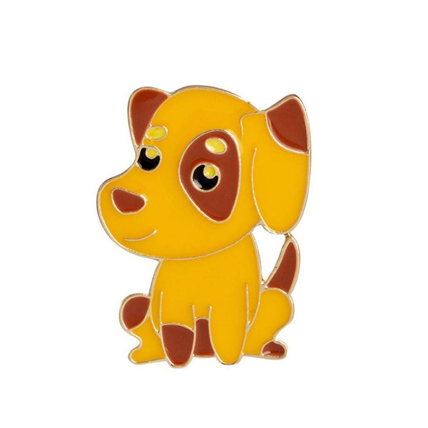 Enamel Puppy Dog Pin