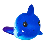 Slow Rise Galaxy Narwhal Squishy