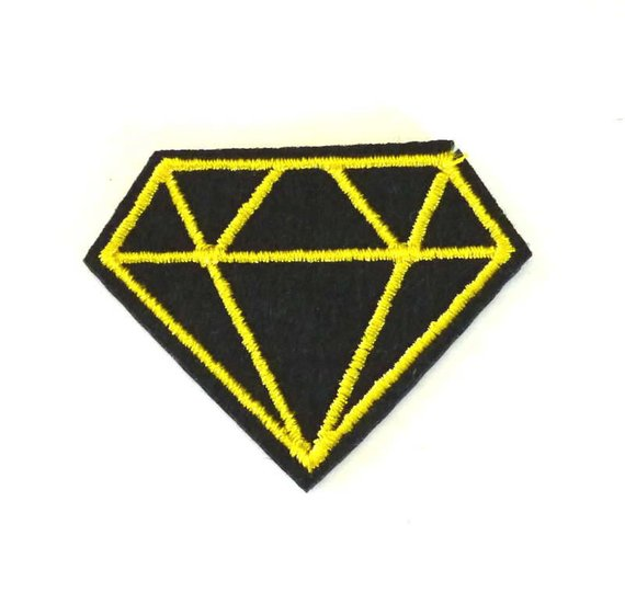 Iron-On Diamond Patch