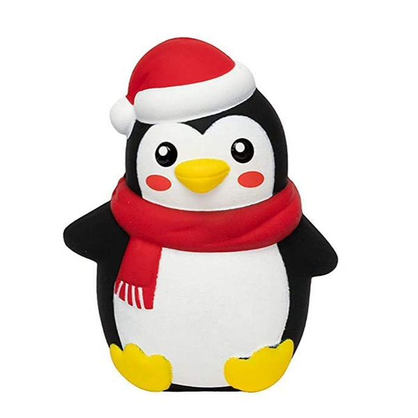 Slow Rising Christmas Penguin Squishy