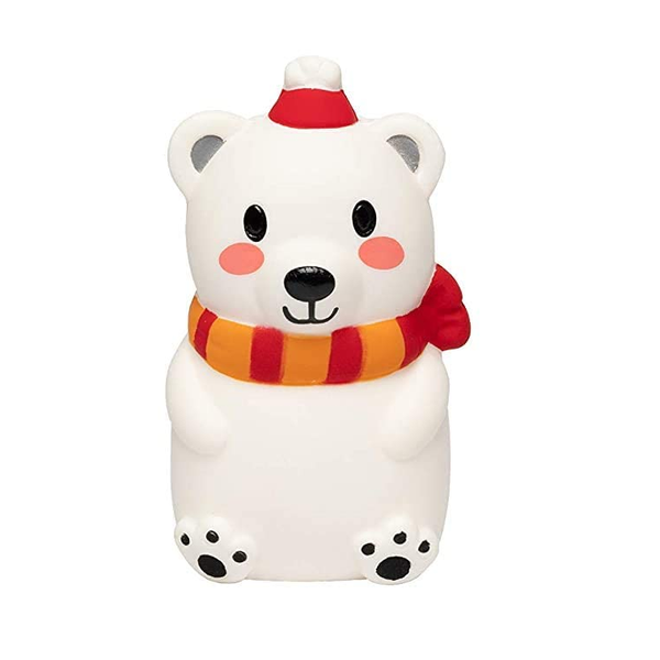 Slow Rise Christmas Polar Bear Squishy