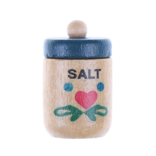 Miniature Dollhouse Salt Cannister
