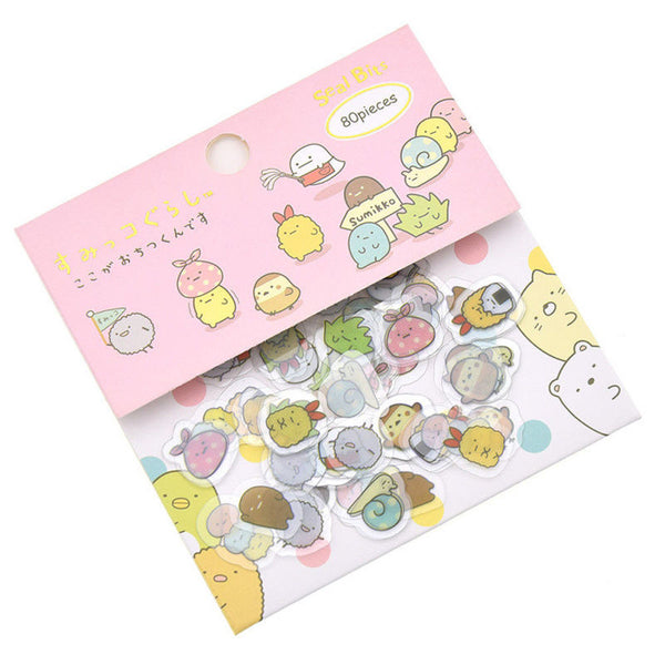 Kawaii Character Sticker Flakes
