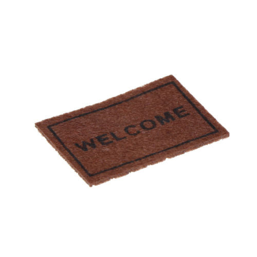 Miniature Dollhouse Welcome Mat
