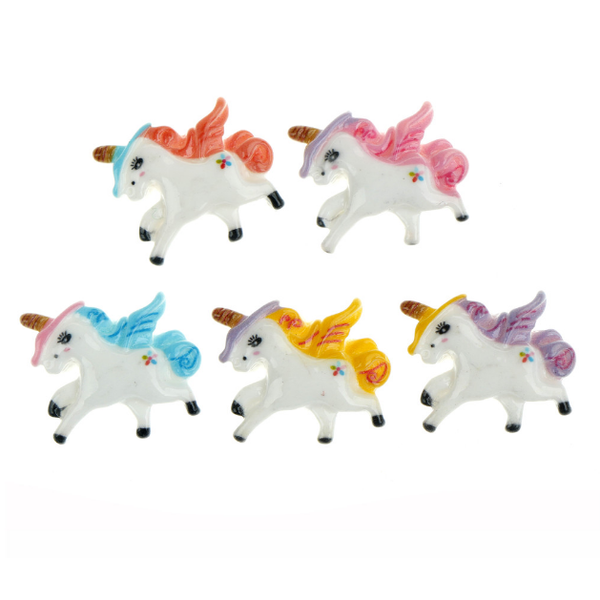 Pegasus Unicorn Slime Charms