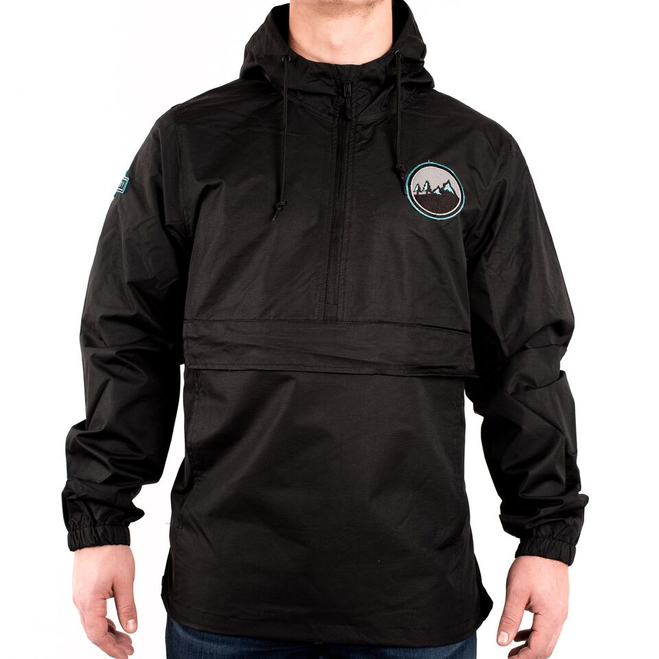 """Backcountry Team"" 1/2 Zip Windbreaker"