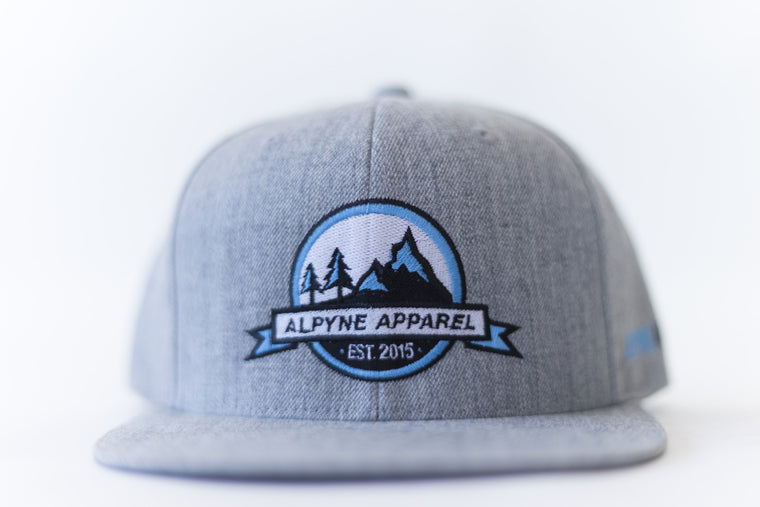 Alpyne Apparel Snapback (Grey)