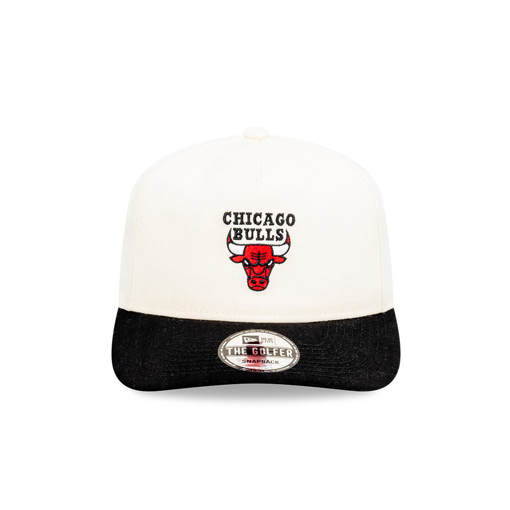 Chicago Bulls Classic Two Tone Golfer NBA Snapback Hat