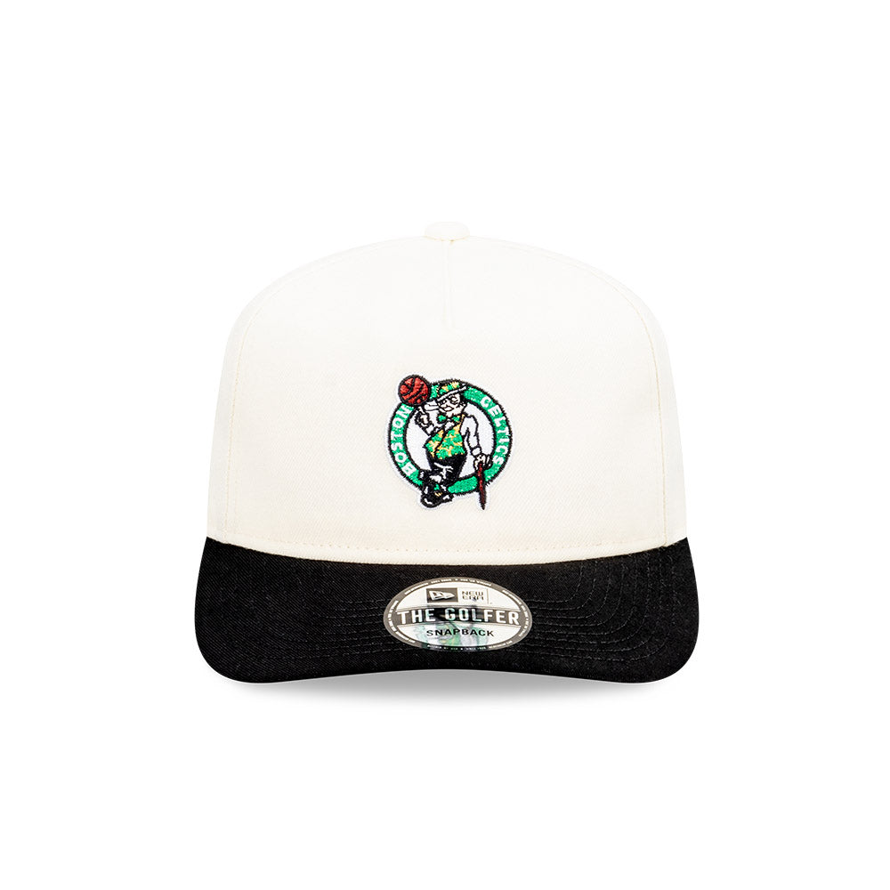 Boston Celtics Classic Two Tone Golfer NBA Snapback Hat