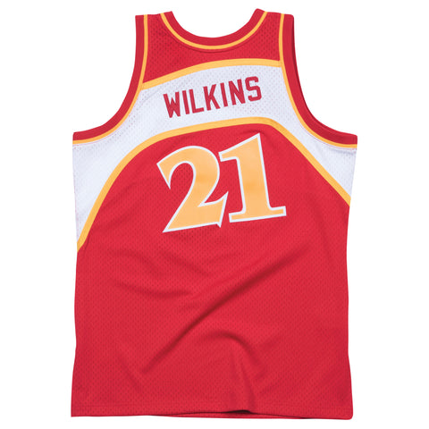 DOMINIQUE WILKINS ATLANTA HAWKS NBA HARDWOOD CLASSICS THROWBACK SWINGMAN JERSEY