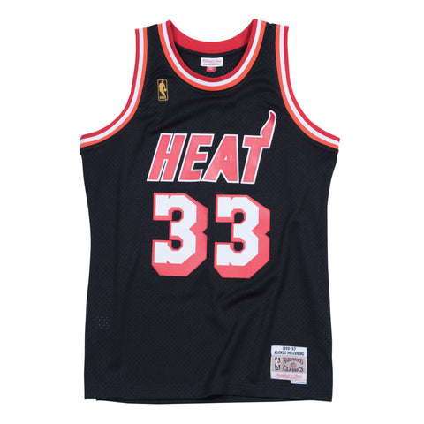 ALONZO MOURNING MIAMI HEAT NBA HARDWOOD CLASSICS THROWBACK SWINGMAN JERSEY