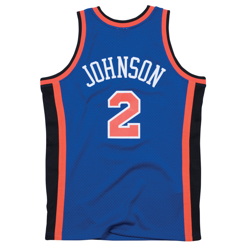 Larry Johnson New York Knicks Hardwood Classic Throwback NBA Swingman Jersey
