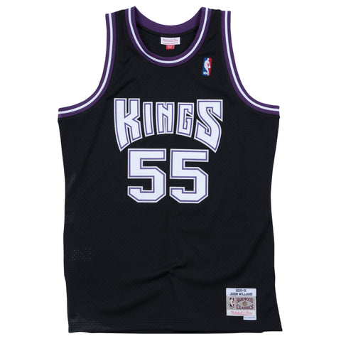 JASON WILLIAMS SACRAMENTO KINGS NBA HARDWOOD CLASSICS THROWBACK SWINGMAN JERSEY