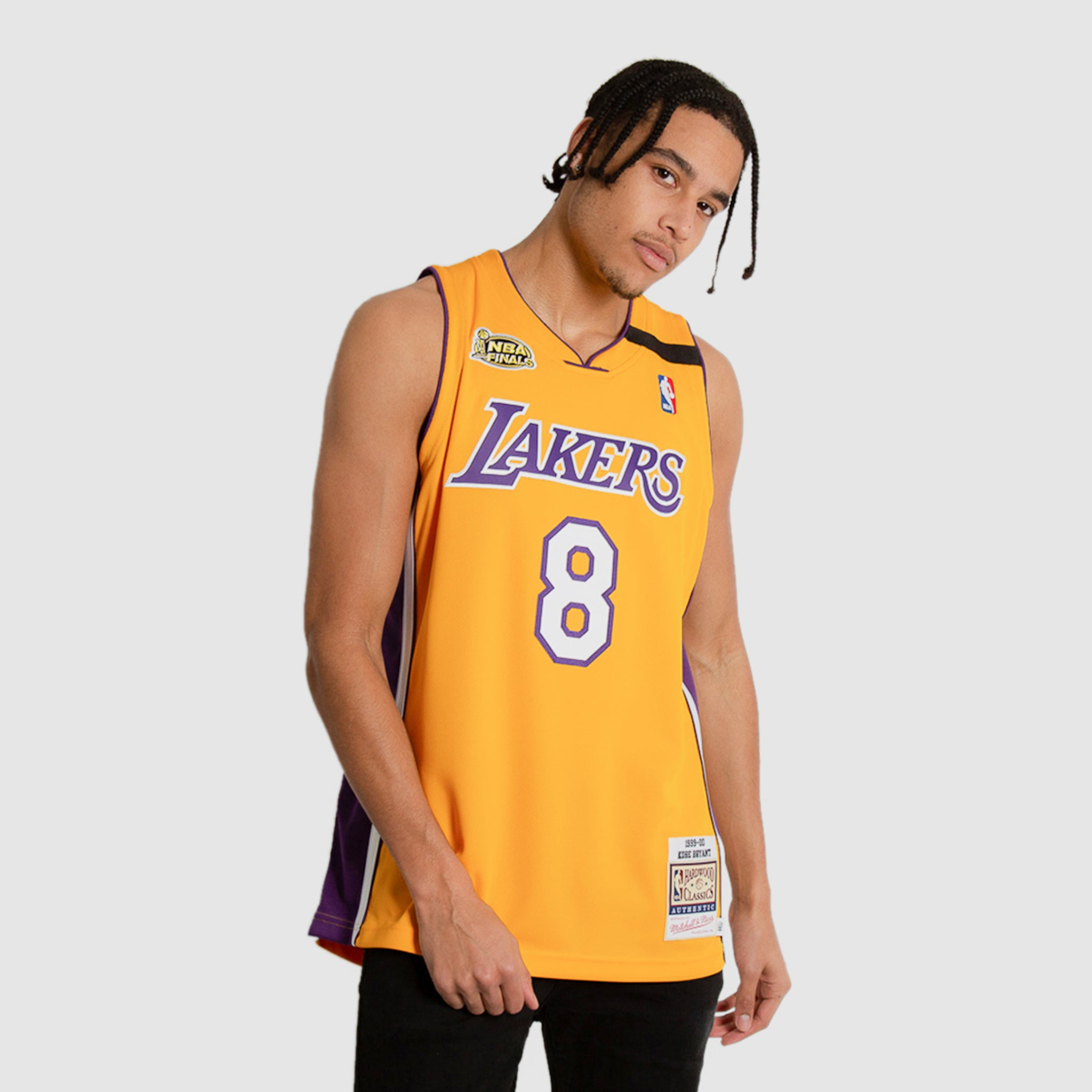 Kobe Bryant Lakers Throwback 1999-00 Finals NBA Authentic Jersey