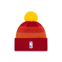 Denver Nuggets City Edition Wordmark Pom Knit NBA Beanie