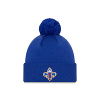 New Orleans Pelicans City Edition Logo Pom Knit NBA Beanie