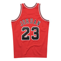 Michael Jordan Chicago Bulls Hardwood Classics Throwback Premium NBA 1997-98 NBA Authentic Jersey