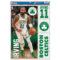 "Kyrie Irving Boston Celtics Decal 11"" x 17"" Stickers"