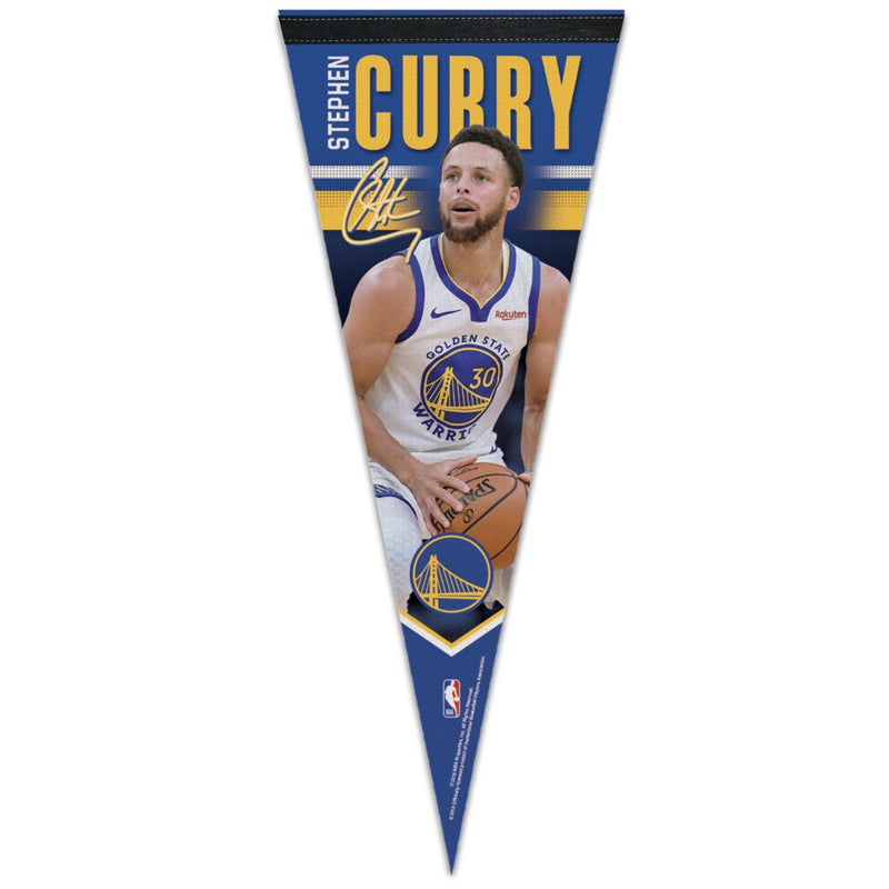 Stephen Curry Golden State Warriors NBA Premium Pennant