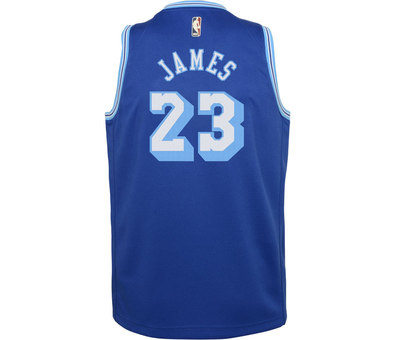 LeBron James Los Angeles Lakers Classic Edition Youth NBA Swingman Jersey