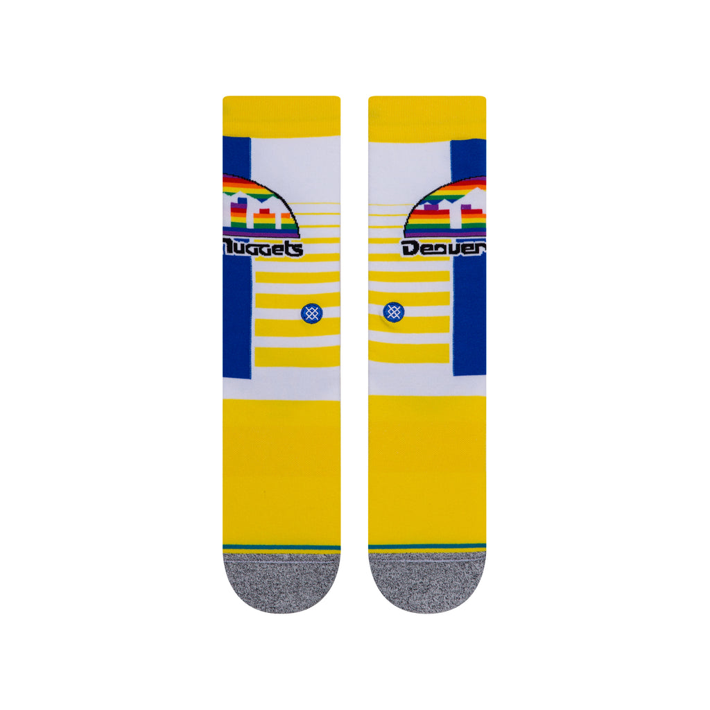Denver Nuggets Gradient Hardwood Classics Stance NBA Socks